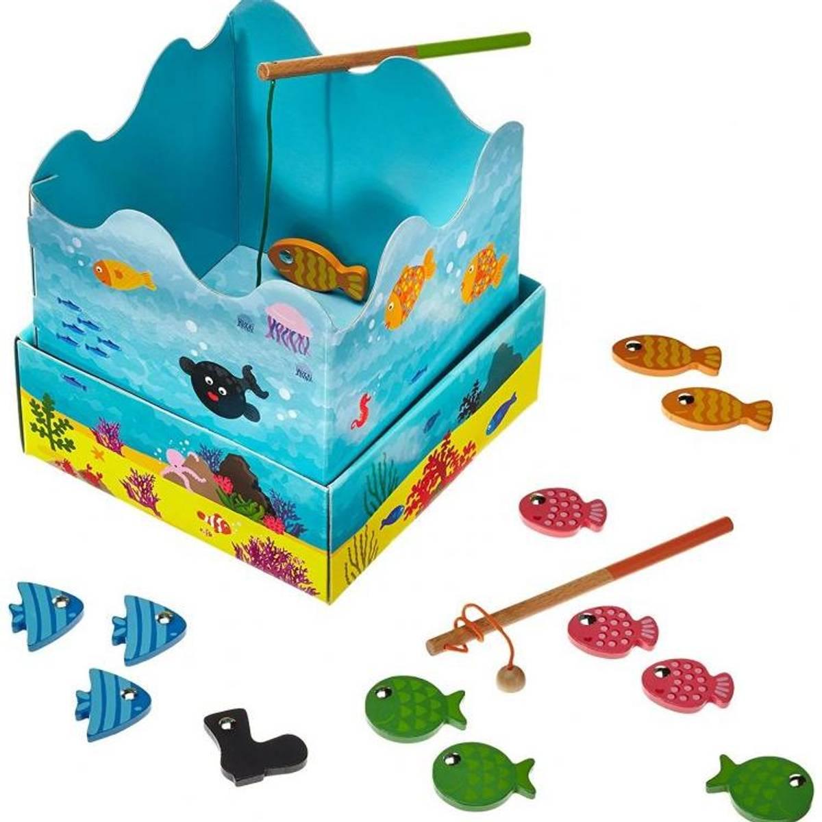 Fiskespill i tre