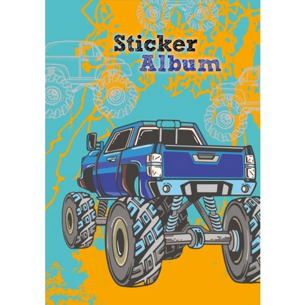 Bilde av klistremerke album bil