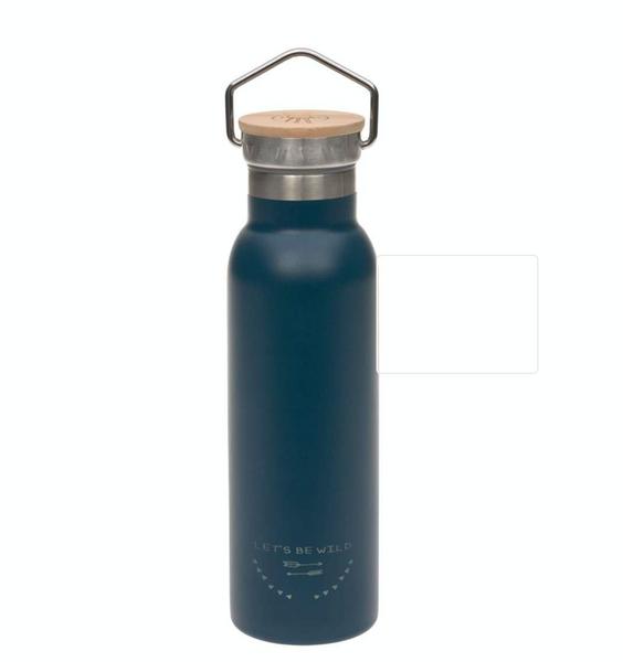 Bilde av Stålflaske blå  450 ml