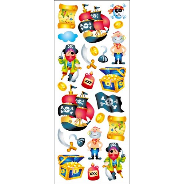 Bilde av Tinka pirat stickers