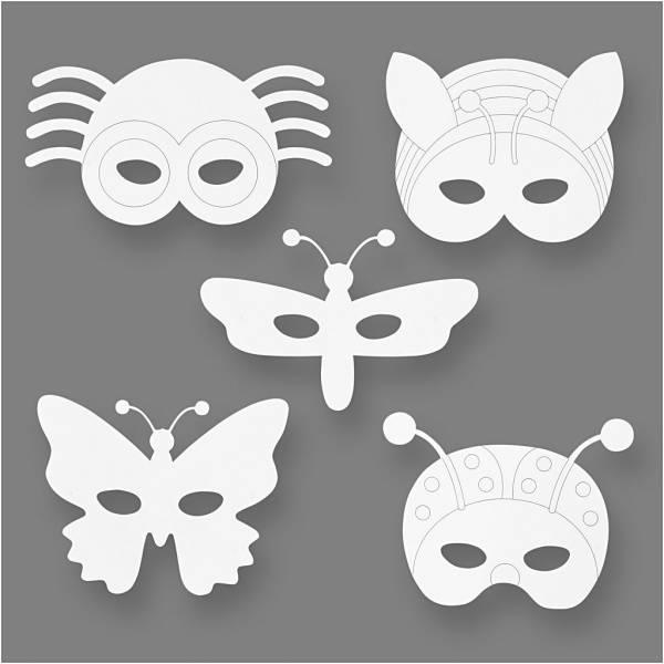 Bilde av Insektsmasker, 16 stk