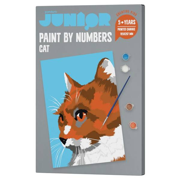 Bilde av paint by number katt