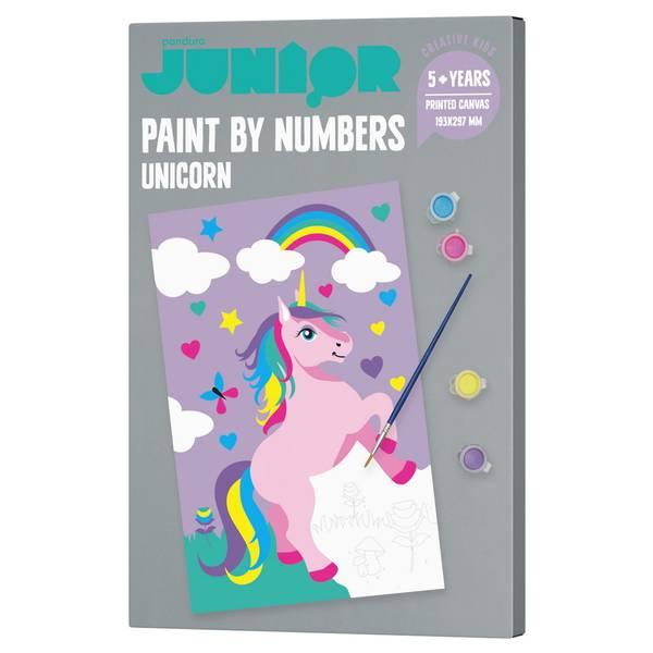 Bilde av paint by number unicorn