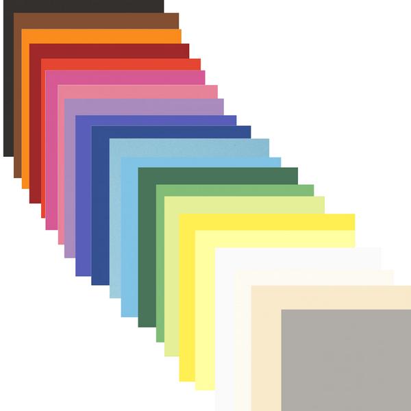 Bilde av Farget kartong 180g, 20 ark