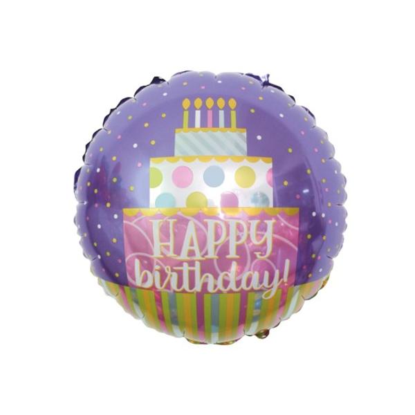 Bilde av folie ballong happy birthday