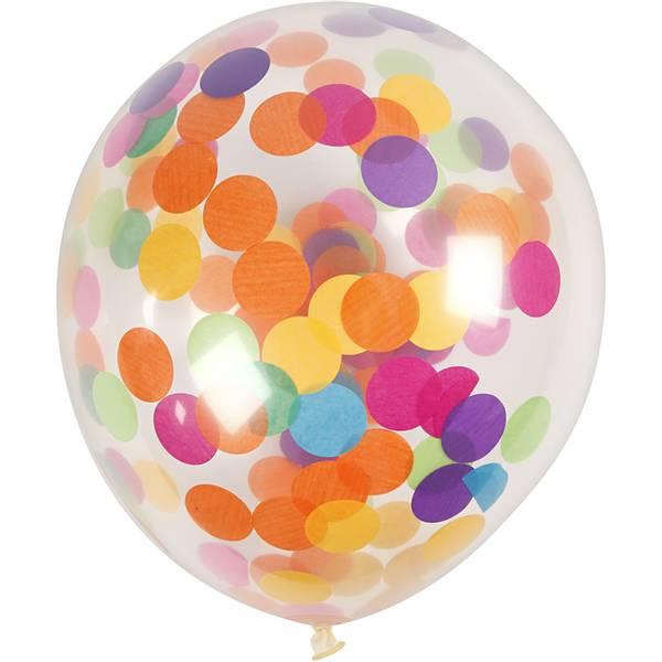 Bilde av Konfetti ballonger