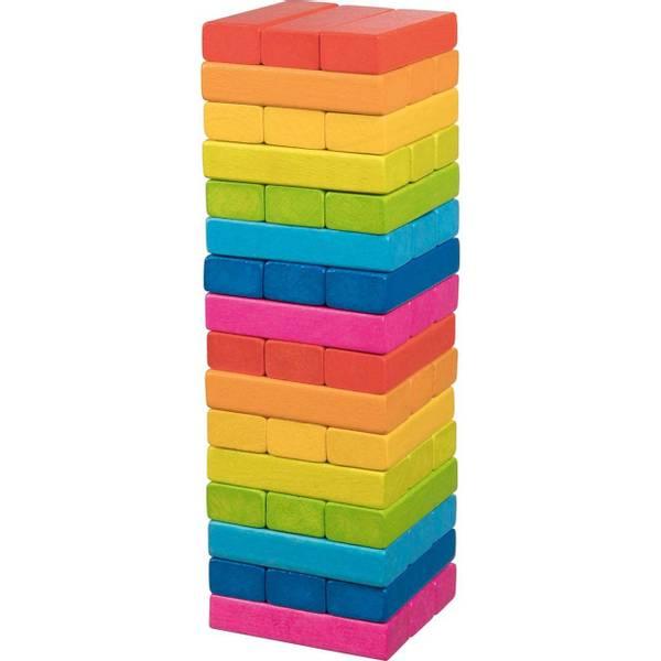 Bilde av Jenga i regnbuefarger, goki