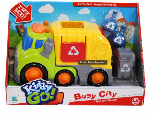 Bilde av Kiddy GO søppelbil