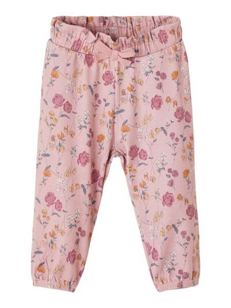 Bilde av Love blomstrete bukse rosa