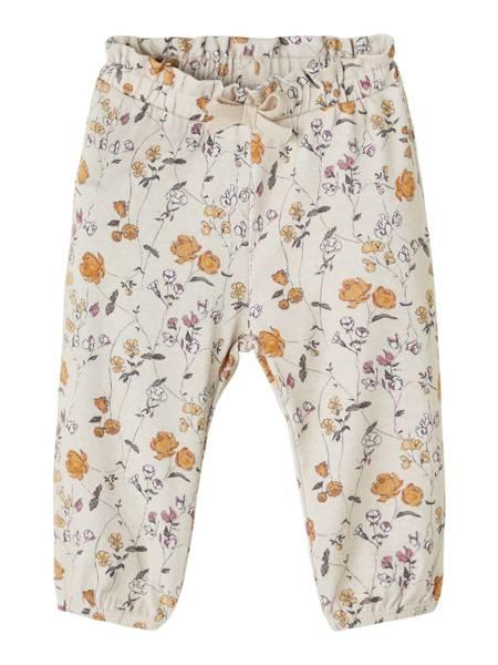 Bilde av Love blomstrete bukse beige