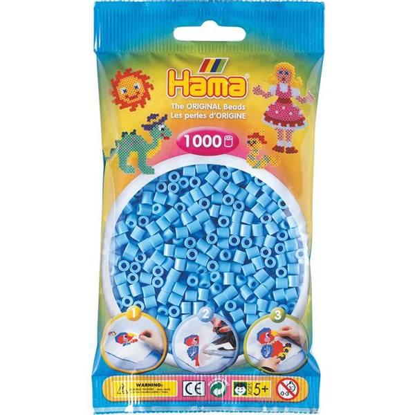 Bilde av Hama Midi, pastell blå, 46,
