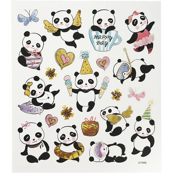 Bilde av Klistremerker Panda