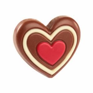 Bilde av Belgiske Sjokoladehjerter