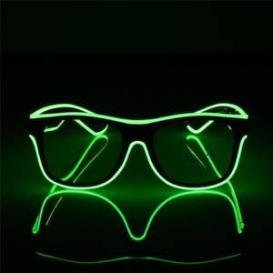 Bilde av LED Lys Briller Grønn