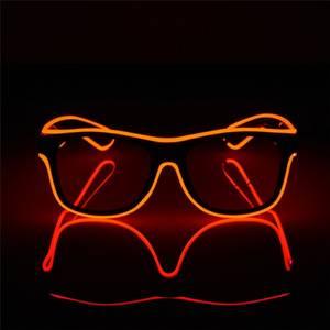 Bilde av LED Lys Briller Rød