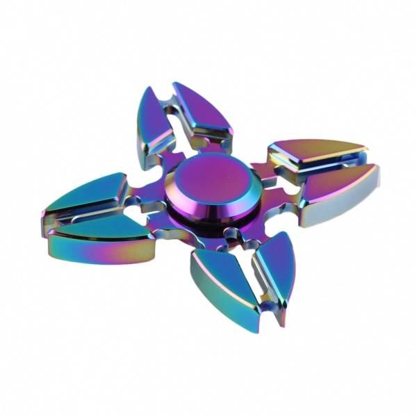 Fidget Spinner Fourspin Flerfarget