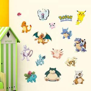 Bilde av Pokémon Veggklistremerke