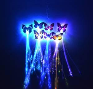 Bilde av Hår LED Lys Sommerfugl 5 stk