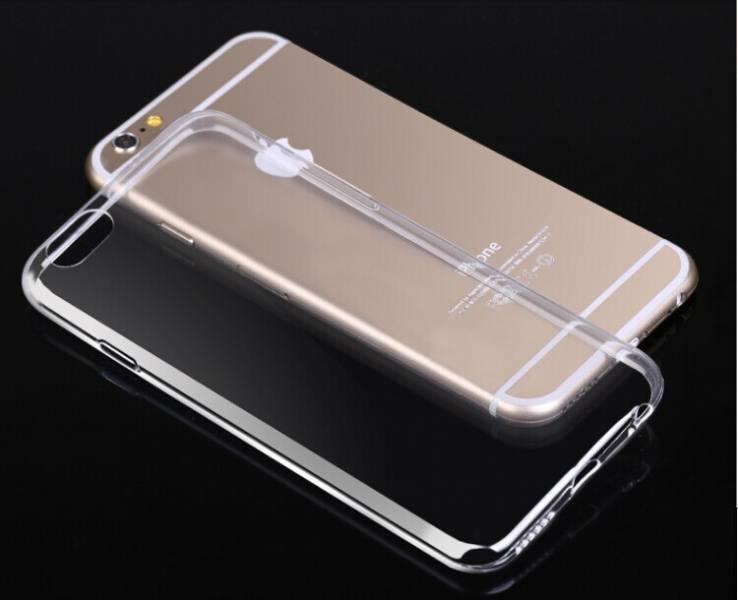 iPhone Silikondeksel med farger til 6/6S plus