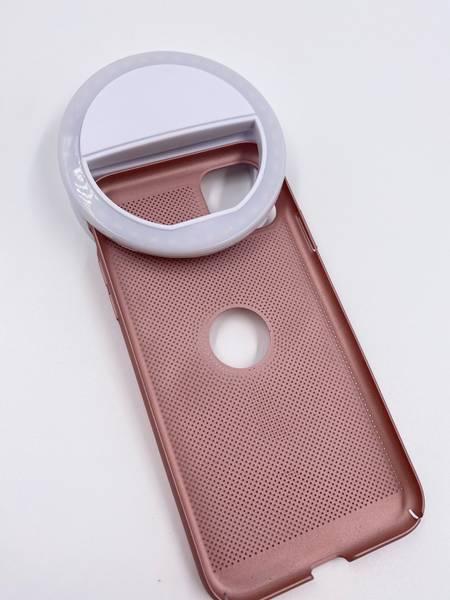 Selfielampe til mobilen