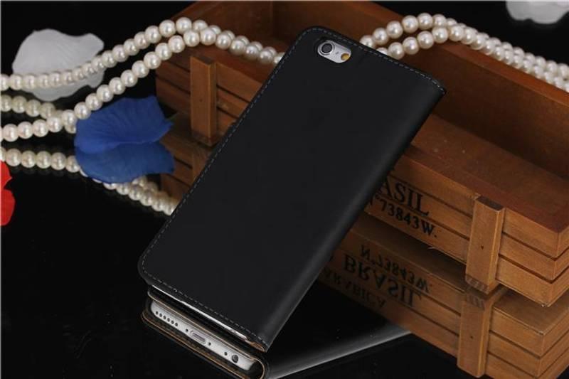 iPhone 6 Lommebok Ekte Skinn