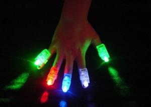Bilde av Finger LED-lys