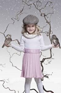 Bilde av Snøstjerne ullkjole rosa