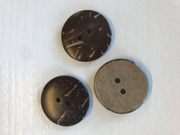 Kokos knapp 25 mm