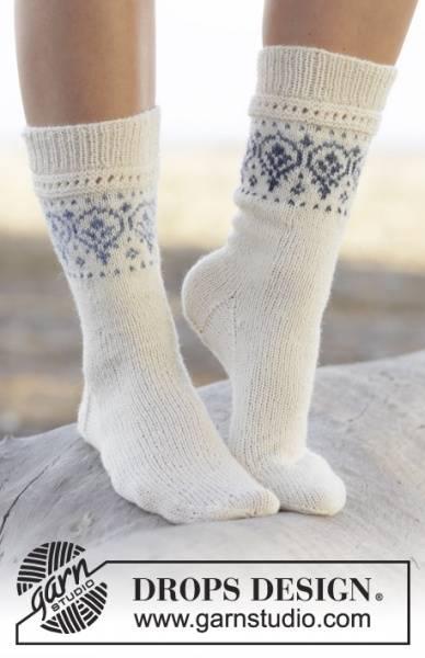 Garnpakke til Nordic Summer Socks by DROPS Design