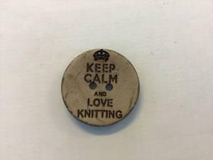 Bilde av Keep calm and love knitting