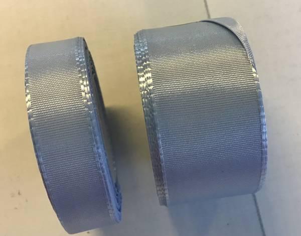 Lyseblå silkebånd 29 mm