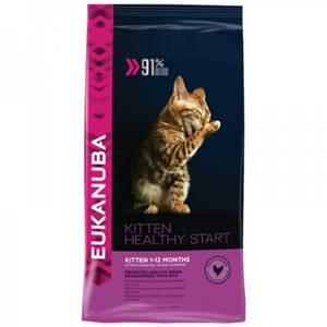 Bilde av 10 kg Eukanuba Kitten, Kylling & Lever - Kattematt