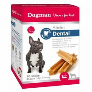 Bilde av Dental Sticks Til Hund Small, Dogman - Boks Med 28 Sticks