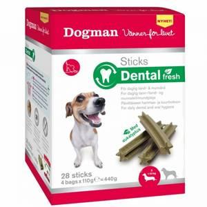 Bilde av Dental Sticks Fresh Til Hund, Small Dogman - Boks Med 28 Sticks
