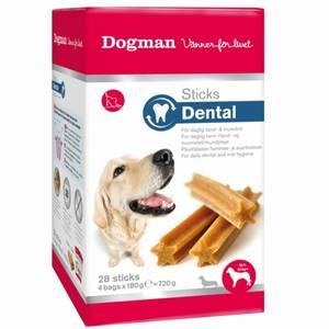 Bilde av Dental Sticks Til Hund Medium /Large, Dogman - Boks Med 28 Stick