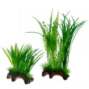Bilde av Plastplante til Akvarium Hobby Flora Root 1 - Akvariedekor