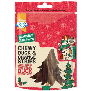 Bilde av Hundegodt Chewy Strips With Duck & Orange Godbit Hund