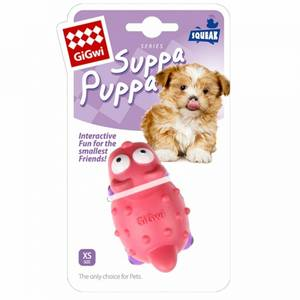 Bilde av Suppa Puppa GiGwi, X-Small. Rosa - Leke til valp og Liten hund