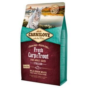 Bilde av 2 kg Kattemat Carnilove Sterilisert Fresh Carp & Trout  - Karpe
