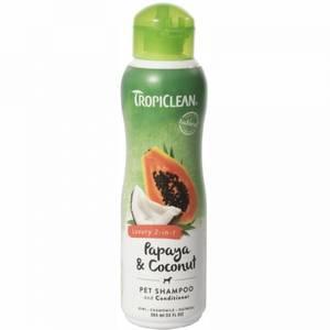 Bilde av Hundeshampo Papaya & Coconut Tropiclean - 2 in 1 Shampo