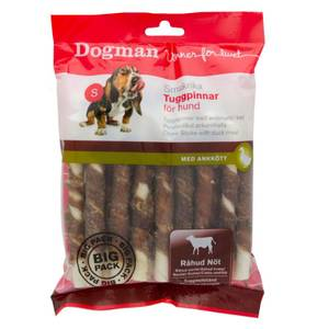 Bilde av Big Pack Tyggpinner Med And 25-pakk - Dogman Naturtygg