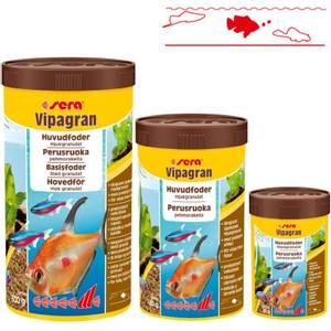 Bilde av Fiskemat Sera vipagran, granulat til tropiske akvariefisk