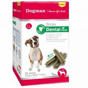 Bilde av Dental Sticks Fresh Til Hund, Medium & Large Dogman - Boks 28 St