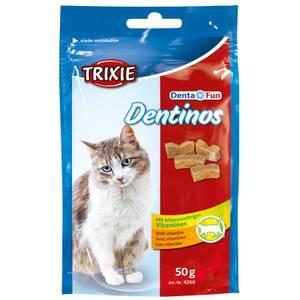 Bilde av Godbit Katt Dentinos Trixie Denta Fun - Kattesnacks