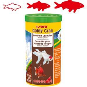 Bilde av Fiskemat Gullfisk Sera Goldy Gran - Granulat til gullfisker