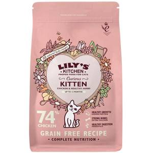 Bilde av 0,8 kg Curious Kitten Lily's Kitchen - Kattemat Kattunger