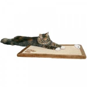 Bilde av Klorematte katt Trixie, plysj, 55 x 35 cm - Klorestativ til vegg