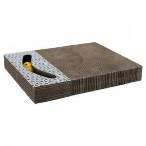 Bilde av Scratching cardboard 38 x 30 cm - Klorebrett med leke