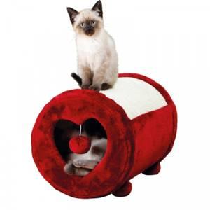Bilde av Klorerull med hule til katt. - Klorestativ / katteseng