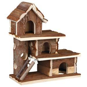 Bilde av Hamster hus Tammo Trixie Natural Living, 3 etasjer